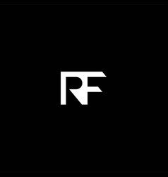 fr or rf abstract outstanding professional vector image