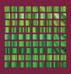 green gradient collection green background vector image