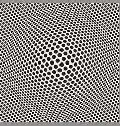 halftone bloat effect optical abstract geometric vector image