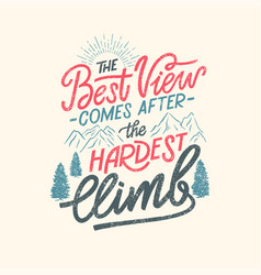 Hand lettering motivation quote 03 vector