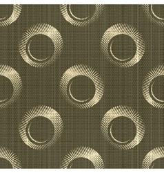 ornate rings pattern vector image