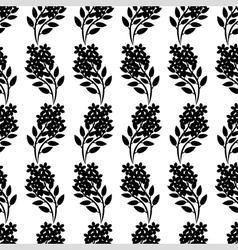 flower bouquet pattern vector image vector image