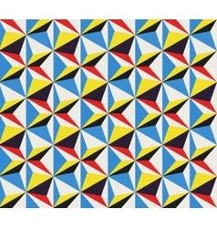Diagonal Movement Seamless Geometric vector image vector image