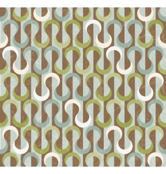 Retro abstract seamless pattern vector image vector image