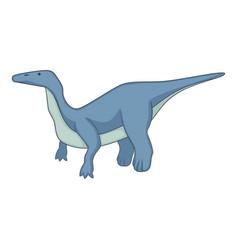 brontosaurus icon cartoon style vector image vector image