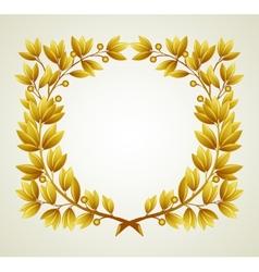 Laurel branch vector image