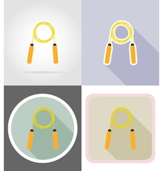 Fitness flat icons 03 vector