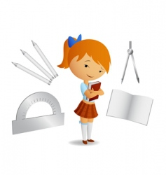 book and tools vector image