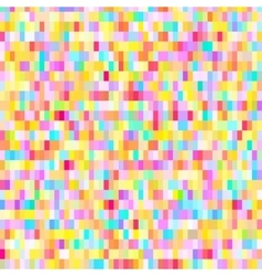 Colorful pattern with chaotic pixels vector