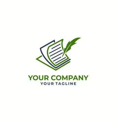 education logotype icon design vector image
