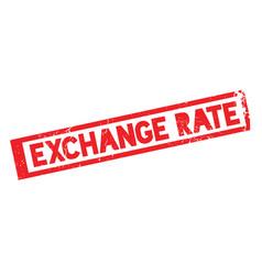 Exchange rate rubber stamp vector