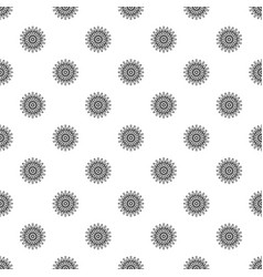 forest flower pattern seamless vector image
