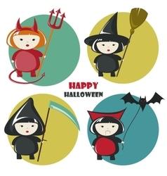 Halloween costume vector