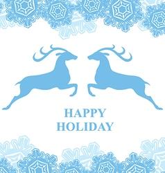 Happy holiday vector