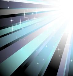 New Year disco lights vector