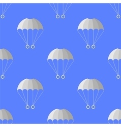 Parachute Seamless Pattern Extreme Sport vector image