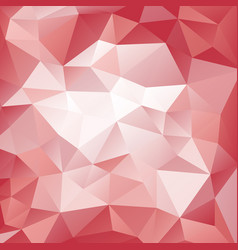 pink and red polygonal pattern vector image