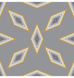 Seamless geometric pattern with a few diamonds vector