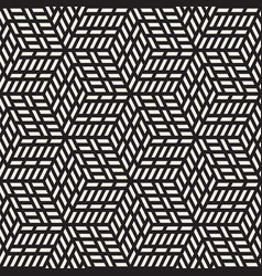 seamless pattern modern stylish lattice texture vector image