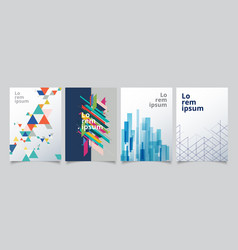 Set template geometric covers design gradient vector