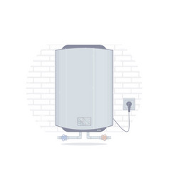 Water heater cartoon style vector