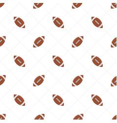 american football seamless pattern vector image vector image