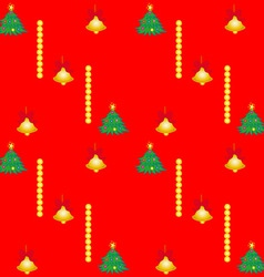 Bells and Trees vector image vector image