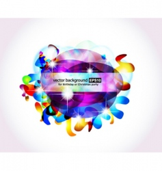 colorful background for business cover vector image