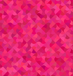 Pink abstract mosaic pattern background vector