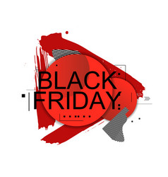 abstract black friday vector image