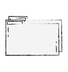 Figure folder file to save documents information vector