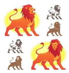 Lion Symbols vector image