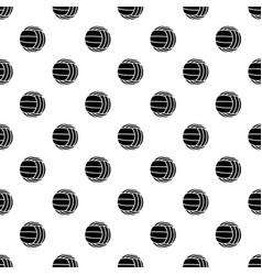 Modern volleyball pattern seamless vector