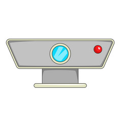 Multimedia projector icon cartoon style vector