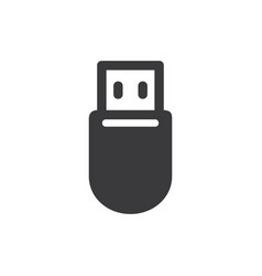 pendrive icon vector image