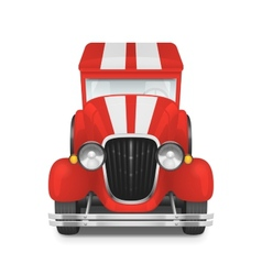 Retro car icon vector