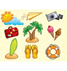 Vacation Pack vector image