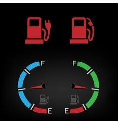 energy fuel icon vector image