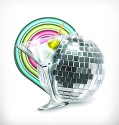 Disco icon vector image