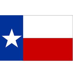 flag of texas vector image