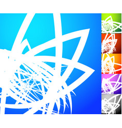Abstract background set square format backgrounds vector