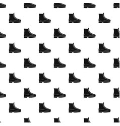 Boots pattern seamless vector