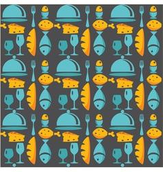 Kitchen pattern vector
