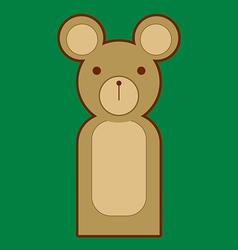 Puppet Bear vector image