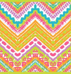 Tribal ethnic seamless pattern vector