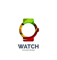 Watch logo vector