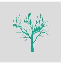 Wildfire icon vector