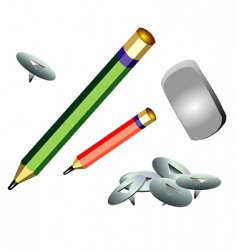 office object vector image vector image