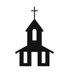 Church simple icon vector image
