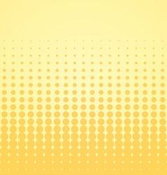 Beige Halftone Backdrop vector image